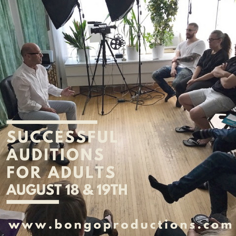 adult audition 2018