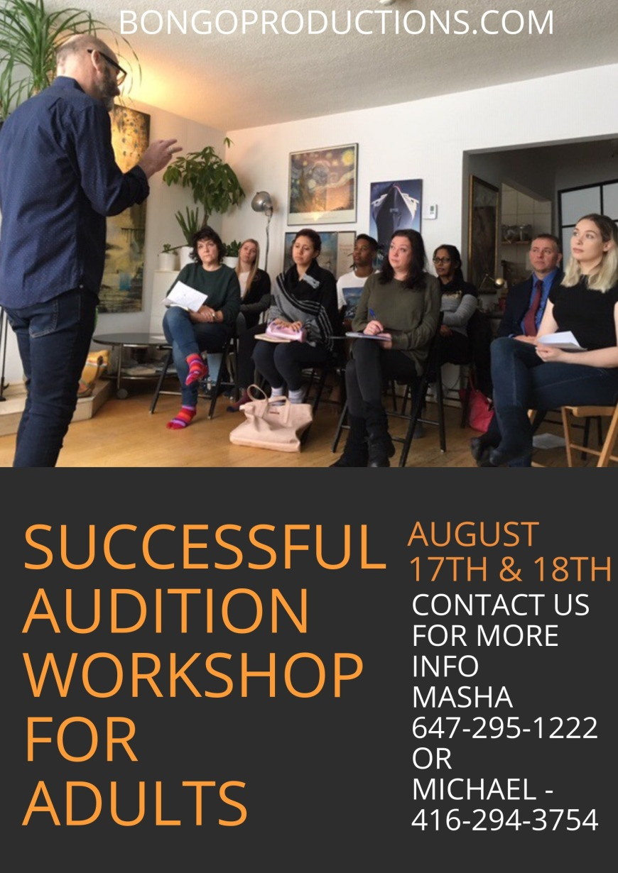Successful Audition Workshop For Adults